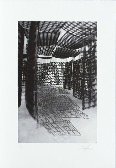 Cristina Iglesias, 'Estudio. Pasillo suspendido XVI', 2007