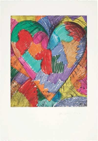 Jim Dine, 'The Heart Called Paris Spring', 1982