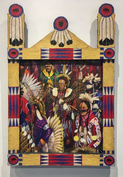 Earl Staley, 'Powwow 19: Intertribal', 1996
