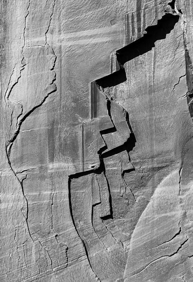 Larry Garmezy, 'Faces of the Anasazi - Abstract Landscape photography, Natural Abstraction, Patterns, Cliff face, Colorado Plateau, Canyon de Chelly, Arizona', 2019