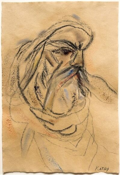 R. B. Kitaj, 'After Delacroix's Michelangelo', 2000-2004