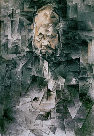 Pablo Picasso, 'Portrait of Art Dealer Ambroise Vollard (1867-1939)', Spring 1910