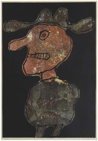 Jean Dubuffet, 'Personnage au Chapeau', 1962