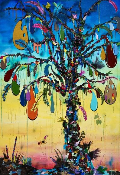 Alicia Paz, 'Tree of paint', 2015