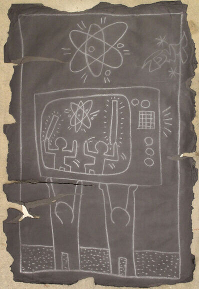 Keith Haring, 'Untitled (Astor Pl. Subway Drawing)', 1980-1985