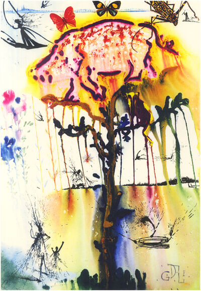 Salvador Dalí, 'Pig And Pepper (Tree)', 1969