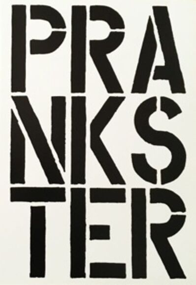 Christopher Wool, 'Prankster', 1989