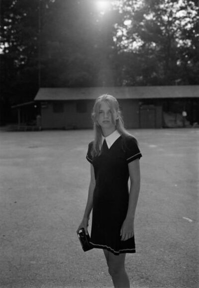 Mark Steinmetz, 'Summer Camp, Hendersonville, NC (girl with camera)', 1995