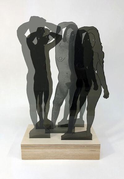 Dan Gluibizzi, 'MFMF [Gray]', 2019