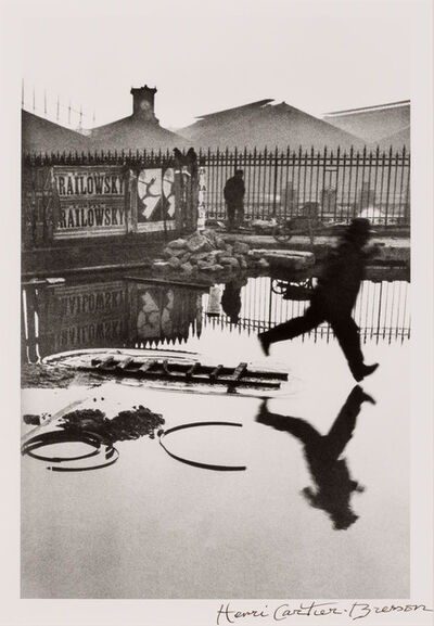 Henri Cartier-Bresson, 'Behind the Gare Saint-Lazare', 1932