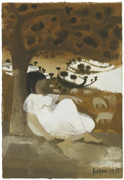 Mary Fedden, 'The Shepherdess', 1975