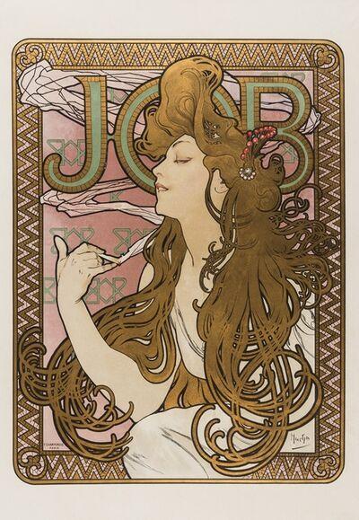Alphonse Mucha, 'Job', 1896