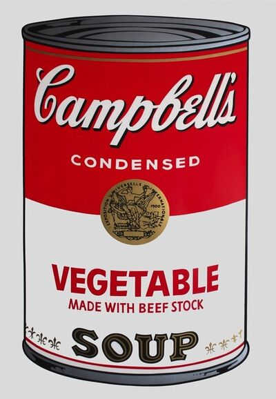 Andy Warhol, 'Campbell's Soup: Vegetable (FS II.48)', 1968