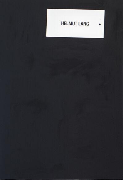 Johannes Wohnseifer, 'Ohne Titel (Helmut Lang) I', 2016