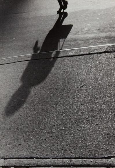 Lisette Model, 'Untitled (shadows, woman with handbag)', 1940-1941