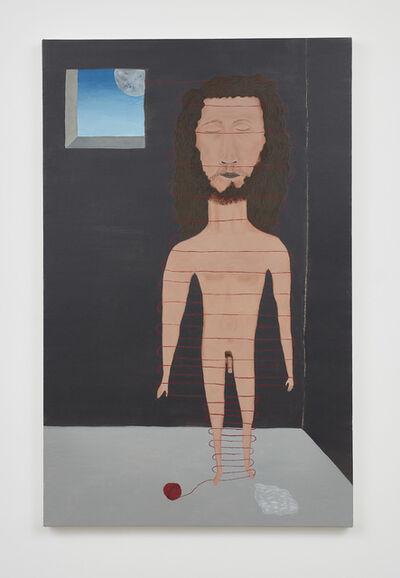 Cecilia Vicuña, 'Hombre amarrado/Tied Man', 2019-after the lost original 1971 work