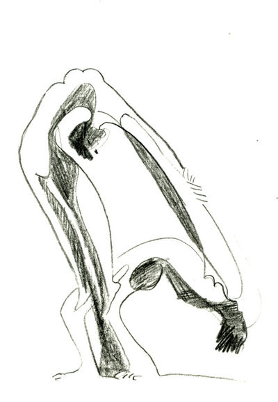 Ernst Ludwig Kirchner, 'Zwei Akrobatinnen', 1932