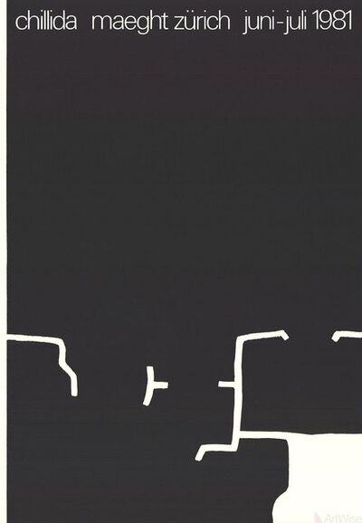 Eduardo Chillida, 'Maeght Zurich', 1981