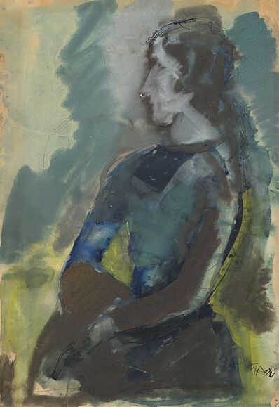 Mario Sironi, 'Figura femminile', second half of 1950