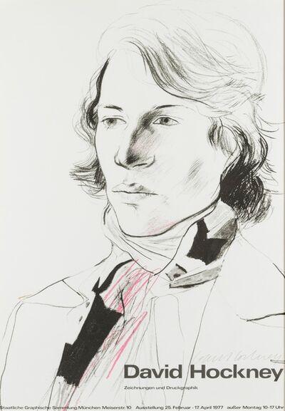 After David Hockney, 'Poster for the Staatliche Graphische Sammlung, Munich', 1977
