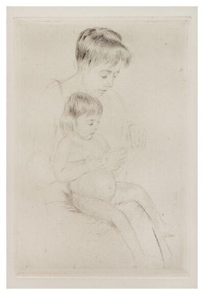 Mary Cassatt, 'The Manicure', c. 1908