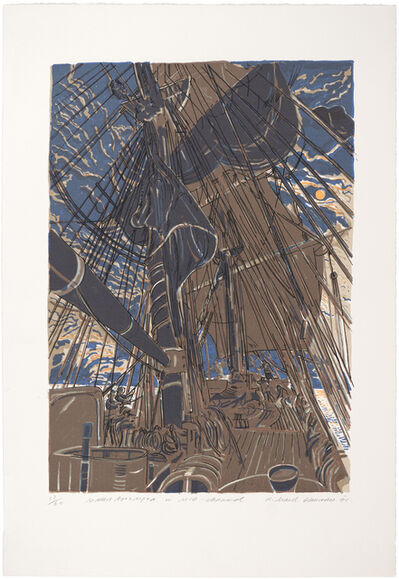 Richard Demarco, 'Maria Assumpta in Mid Channel', 1991