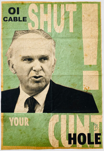 Billy Childish, 'Vince cable royal mail sell-off', 2013