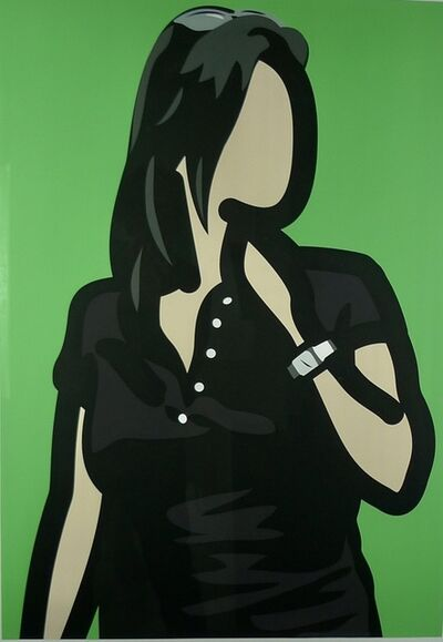 Julian Opie, 'Tourist with Watch', 2014