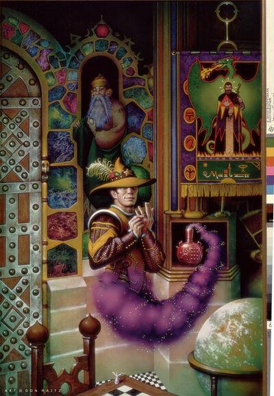 Don Maitz, 'Wizard in a Bottle', 1986