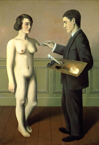 René Magritte, 'La Tentative de l'impossible [Attempting the Impossible]', 1928
