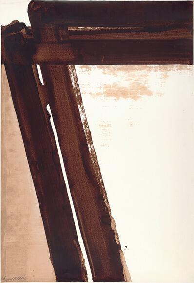 Pierre Soulages, 'Sérigraphie no. 15', 1981