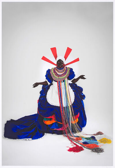Mary Sibande, 'Her Majesty, Queen Sophie', 2010