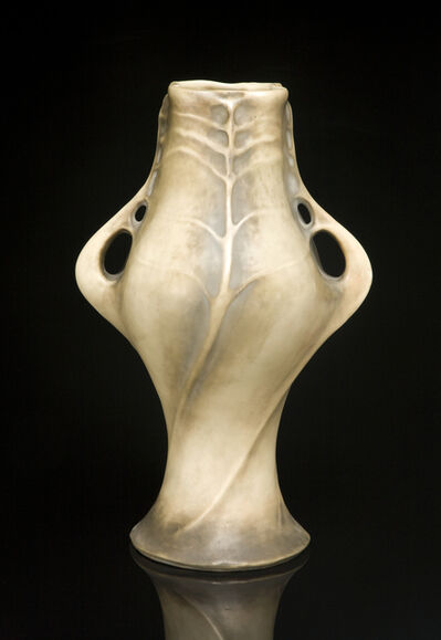 Amphora, 'Twisted Lily Pads', ca. 1900