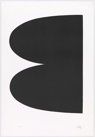 Ellsworth Kelly, 'Black (I. 1. Black; Noir Series I No. 1)', 1964-65
