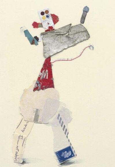 Ben Schonzeit, 'Not Obvious, Mix Media Collage Series', 2015