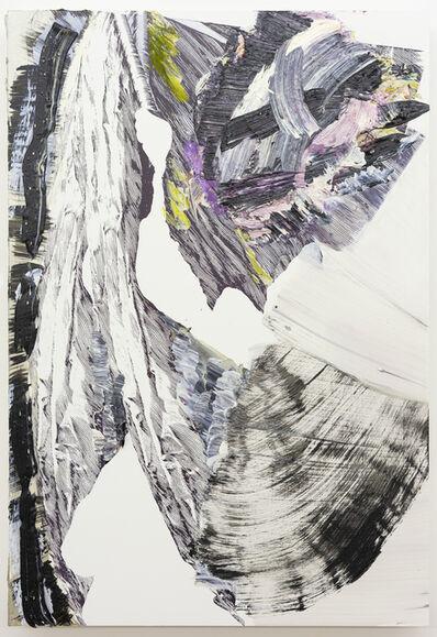Pia Fries, 'fahnenbild e1', 2012