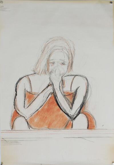 Beatriz González, 'Estudio del Zócalo del duelo', 2019