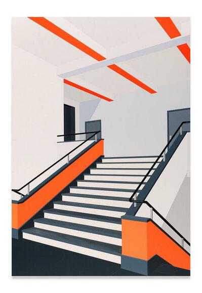Daniel Rich, 'Bauhaus (Orange)', 2018