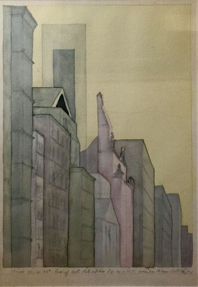 Carlo Battaglia, 'From 340 West 57th Looking East', 2001