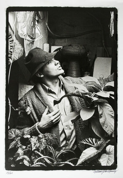 William John Kennedy, 'Robert Indiana in Fedora', 1963