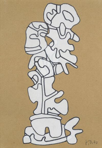 Jean Dubuffet, 'Monument à l'homme portant un lionceau', 1970