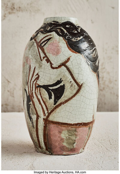 René Buthaud, 'Deux Femmes Vase', circa 1925