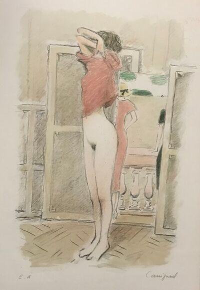 Jean-Pierre Cassigneul, 'Le modèle dans l'atelier'