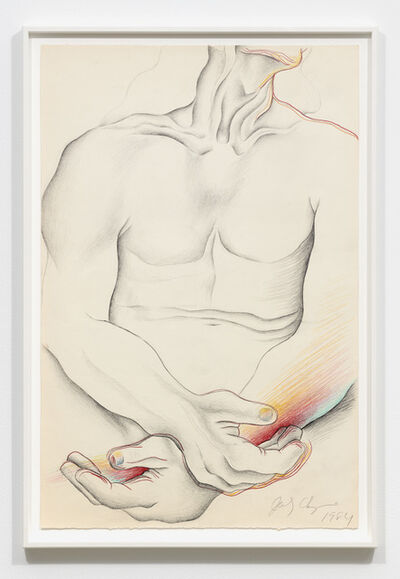 Judy Chicago, 'Untitled - Male Torso: Frontal', 1984
