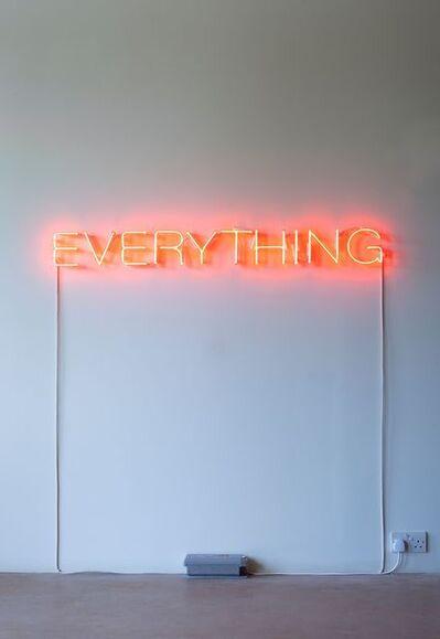 Martin Creed, 'Work No. 2665 EVERYTHING', 2016