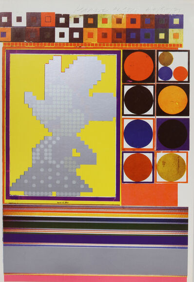 Eduardo Paolozzi, 'Inside Down Under... What are the Building Blocks of Structuralism? II from General Dynamic F.U.N. Portfolio', 1970