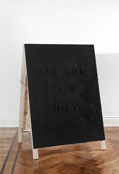 Gustavo Marrone, 'Untitled (Viendo qué hay / No hay mal que por alguien no venga)', 2015