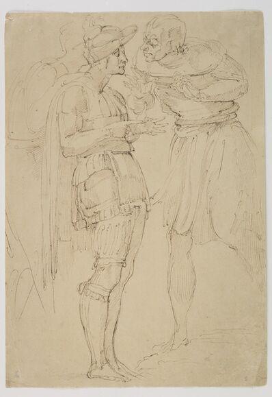 """Giovanni Battista Franco, 'Study for """"The Battle of Montemurlo""""', ca. 1537"""