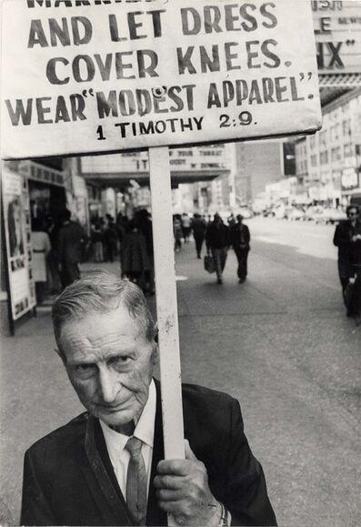 Leon Levinstein, 'NYC', ca. 1960