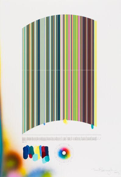 """Tim Bavington, 'Study For """"Kiss (M)""""', 2013"""